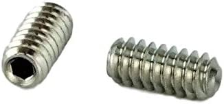 "10-32 x 1//8/"" Grub Screws Allen Socket Set Screw Stainless Steel Qty 50"