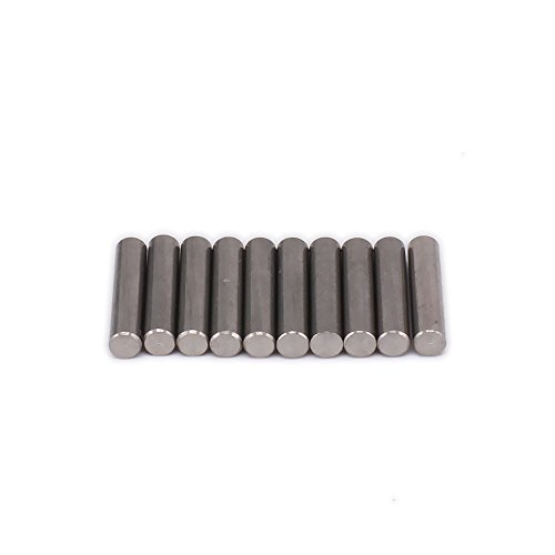 RCAWD Positioning Pin 08027 2X10MM 2mm Wide x 10mm Long for RC Hobby Model HSP 1/10 Car HPI Traxxas Axial Hi Speed Tamiya Redcat Himoto 10Pcs (Hpi Pin)