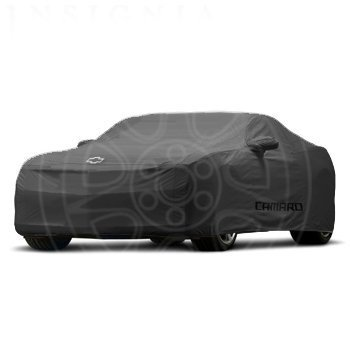 2012-2013 Chevy Camaro ZL1 Black Indoor Car Cover with ZL1 logo by GM 22863449