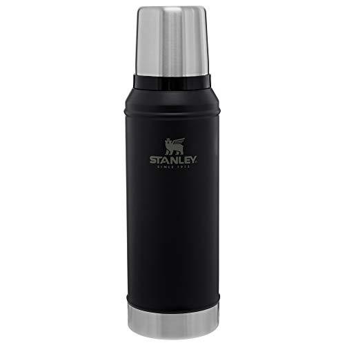 Stanley Classic Legendary Vacuum Insulated Bottle Matte Black 1.0qt ()
