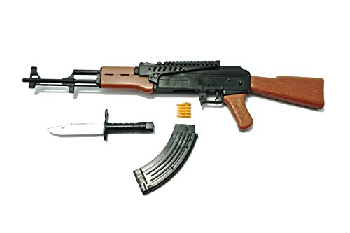 "1/6 Scale AK47 Assault Rifle Russian Soviet Army Miniature Toy Guns Model Fit For 12"" GI Joe Action Figure"