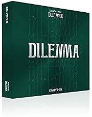 ENHYPEN Dimension Dilemma 1st Album ESSENTIAL ver (incl. CD, Mini Folded Poster, Photocard A, Photocard B, Photobook, Top Loader, Sticker)