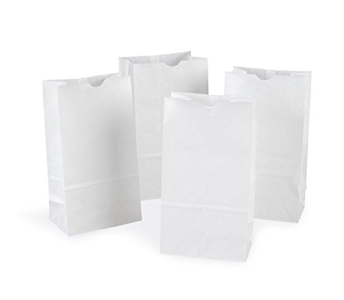 Rainbow PAC72020 Kraft Bag, White, 6