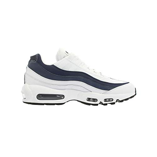 Nike Air Max 95 Essential Mens White/Navy Sneakers