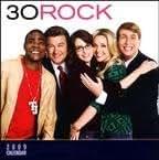 30 Rock 2009 Wall Calendar