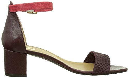 Bensimon F15241c707 - Sandalias de vestir Mujer Rojo - Rouge (Bordeaux)