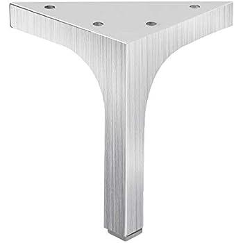 4 Quot Satin Finish Furniture Cabinet Cupboard Metal Legs