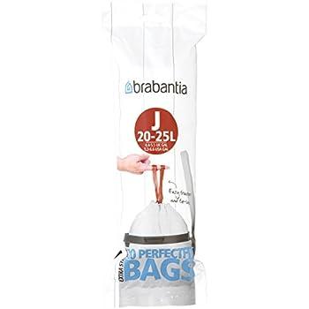 Amazon.com: Brabantia 361982 Trash Bags, 12 Liter (40 Stück ...