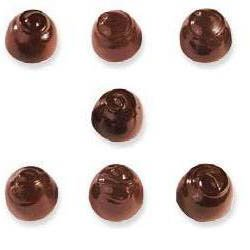 Chocolate Mold Assorted Domes 32mm x 23mm High, 28 Cavities