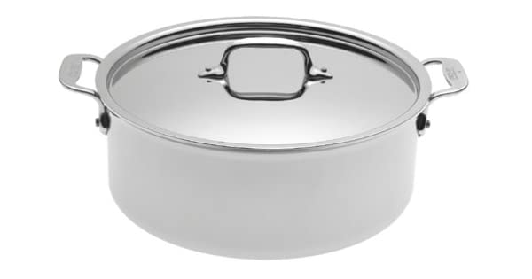 Amazon.com: All-Clad 5506 inoxidable 6-quart Stockpot, Plata ...