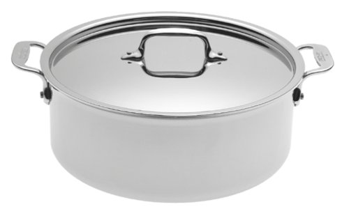 All-Clad 5506 Stainless 6-Quart Stockpot, Silver ()