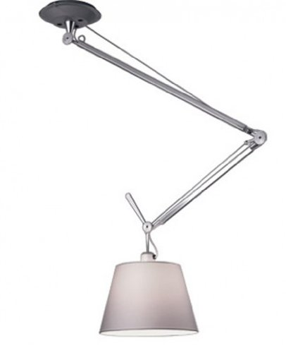 (Tolomeo off center suspension - 110-125V (for use in the U.S, Canada etc.), 834; (20cm) aluminum diffuser )