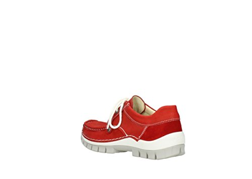 10570 Nubuck Wolky Fly Donna 04708 Seamy rosso Derbies XR1q4