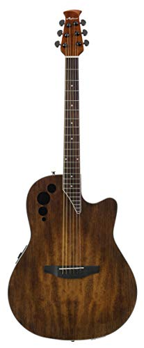 - Ovation Applause 6 String Acoustic-Electric Guitar, Right, Vintage Varnish, Mid-Depth (AE44II-VV)