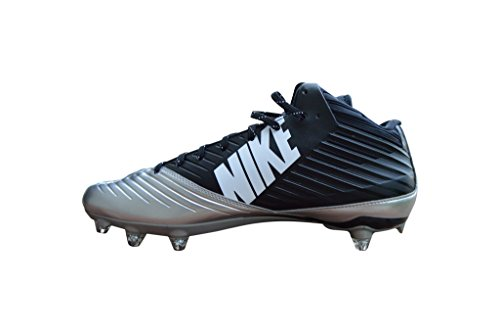 2a92218efa36 Galleon - Nike Men's Vapor Speed Low TD Molded Football Cleats (13.5,  Silver/Black 3/4)