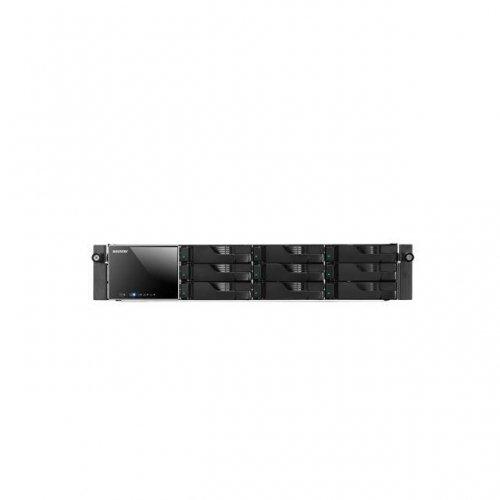 ASUSTOR #AS-609RS/RAIL AS-609RSRAIL Intel Atom 2.13GHz 1GB DDR3 2GbE 2eSATA USB3.0 9-bay 2U Rackmount NAS Server w Rail
