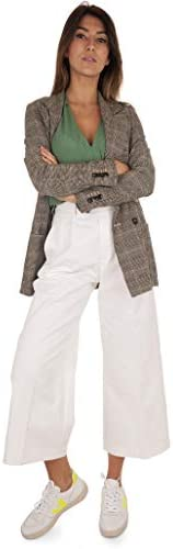 GRIFONI Pants Double PINCE Female White, GG240006/35001