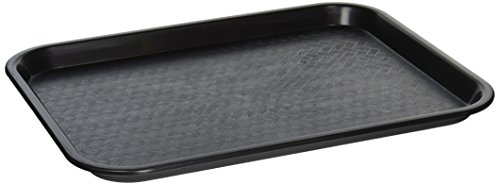 Winco FFT-1014K Fast Food Tray, 10-Inch by 14-Inch, Black