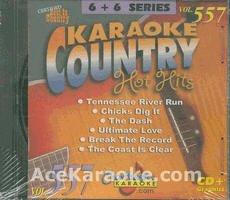 Karaoke Music CDG: Chartbuster Karaoke 6X6 CDG CB20557 - Country Hot Hits Male September 2003 ()