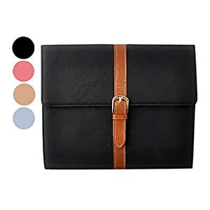 Conseguir Correa patrón de caso completo de cuero de Administración para iPad 2/3/4 (colores surtidos) , Color Caqui