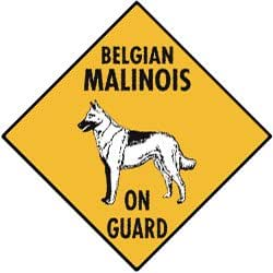 USD20 Amazon Gift Card Wedding Registry : Amazon.com: Belgian Malinois On Guard Aluminum Dog Sign: Home ...