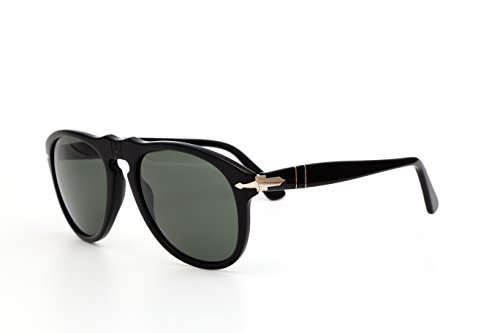 Persol Po Frame green Sunglasses Black Lens 649 ORwrOxqvp