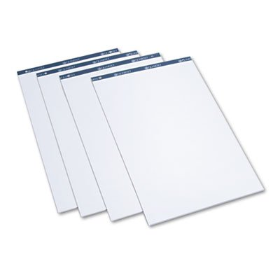(Conference Cabinet Flipchart Pad, Plain, 21 x 33-7/10, WE, 50-Sheet, 4/Carton, Sold as 4 Each)