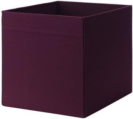2 x IKEA DRONA caja de almacenaje 33 x 38 x 33 cm Home/Office perfecto para todo (rojo/lila) por Drona: Amazon.es: Hogar