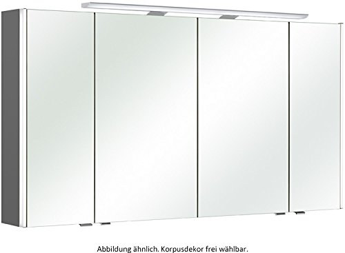 Pelipal S10 Neutraler Spiegelschrank / S10-SPS 24 / Comfort N / 132x70x17cm / A+