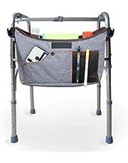 Fushida Walker Bag -Multi-Purpose Walker Bag- Wheelchair Pouch for Standard Walkers, Wheelchairs, Bariatric Walkers, and Dual-Point Folding Walkers