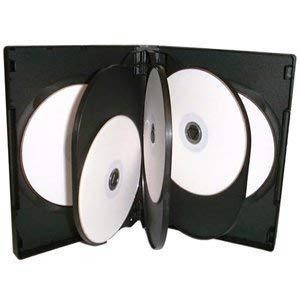 10 x Dragon Trading® carcasa con 8 fundas para CD/DVD/Blu ...
