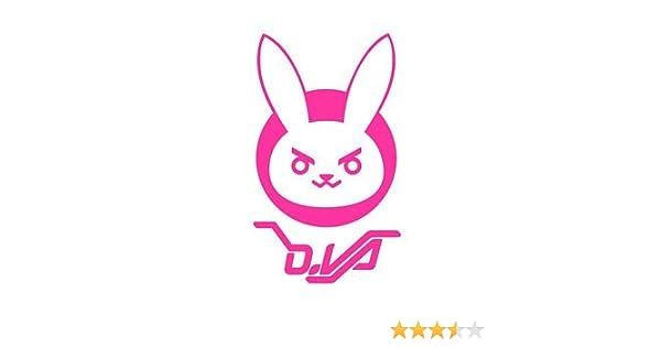 ca30e45b83a0 Amazon.com  D.VA Bunny Logo Overwatch - Vinyl 5