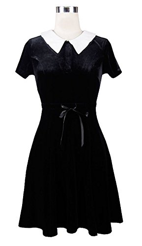 Devil Kleid Fashion Schwarz Fashion Kleid Damen Devil Damen Damen Schwarz Devil Fashion 6BgIxqw