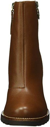 Tommy Hilfiger I1285sabella 16a, Zapatillas de Estar por Casa para Mujer Marrón - Braun (Noce 918)