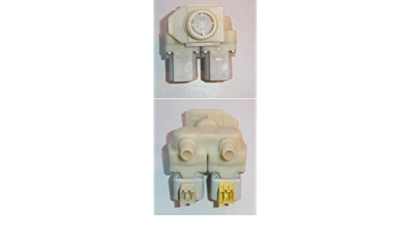 Magnético Válvula para lavadora Siemens, Bosch WFF WM WFK: Amazon ...