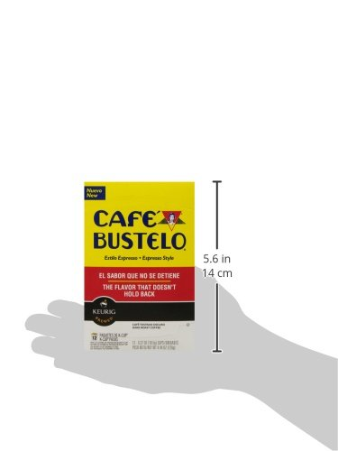 Café Bustelo Espresso Style K-Cup Pods for Keurig K-Cup Brewers 6 boxes of 12 (72 total) by Cafe Bustelo (Image #5)