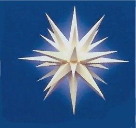 Herrnhuter Stern A7 68cm Weiss Inkl Beleuchtung Weihnachtsstern