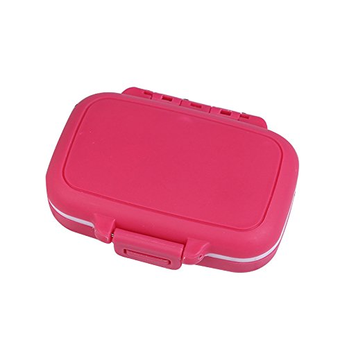 Portable 3 Slots seal folding Pill Cases Jewelry candy Storage Box Vitamin Medicine Pill Box Case Container Wheat stalks from angju