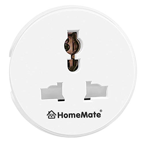 HomeMate WiFi Smart Plug Socket   Works with Amazon Alexa and Google home   10A