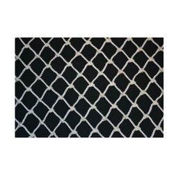 Pigeon Net Nylon Anti Bird Net with Attached Rope Around (White, 8 X 12 feet)