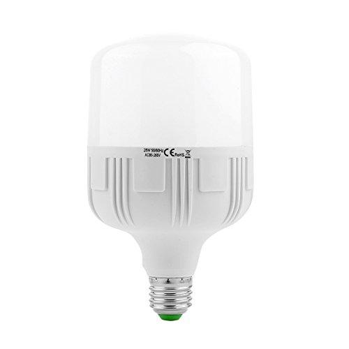 Fashion E27/E26 2835SMD 28W 60LED 2600-2750Lm Warm White Cold White Super High Brightness LED Bulb Lamps (AC 175-265V) Durable (Size : Cold White) ()