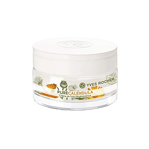 Yves Rocher Pure Calendula Regenerating Moisturizer Day/Night Cream, 50 ml./1.6 fl.oz.