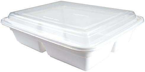 Decor Service Menú Caja, poliestireno (PS), Color Blanco, 23 x 6,5 ...