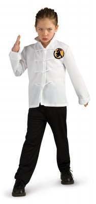 Karate Kid Outfit - Boys Deluxe Karate Kid Outfit Costume Size Medium