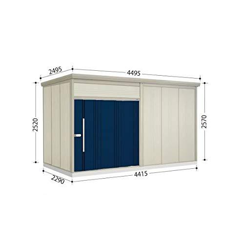 タクボ物置 JN/トールマン JN-Z4426 一般型 結露減少屋根 『屋外用中型大型物置』 ディープブルー B07MV29P6V