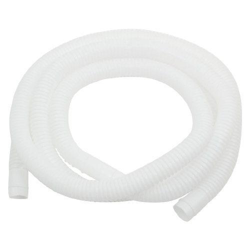 Plastic Drain Hose Pipe for Air Conditioner 2M 16mm x 17mm W