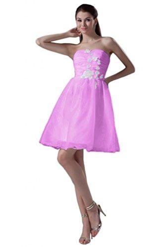 Sunvary elegante cinghia di spaghetti Trailing vestiti per prom abiti da sera Indy Pink 52