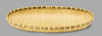 Yamako Japanese Style Bamboo Basket Zaru (L) 42373 by Yamako