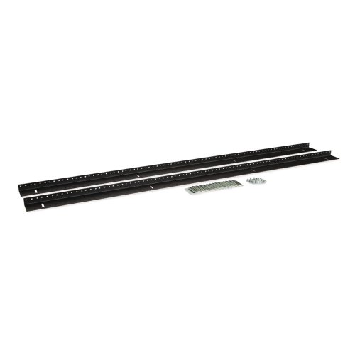 27U LINIER Server Cabinet Vertical Rail Kit - 10-32 Tapped by Kendall Howard
