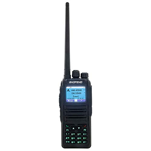 BaoFeng DM-1701 VHF/UHF 3,000 Channels Ham Amateur Radio w/Free Programming Cable Dual Band Dual Time Slot DMR/Analog Two Way (Best Radio With Free Programming)